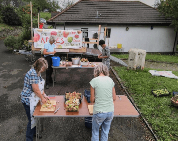 August trial event at Keyham Green Places