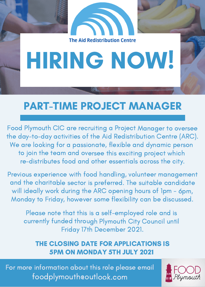 ARC part-time project manager