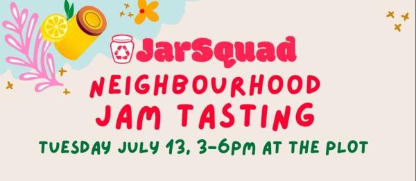 JarSquad Neighbourhood Jam Tasting